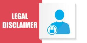 Legal Disclaimer 1